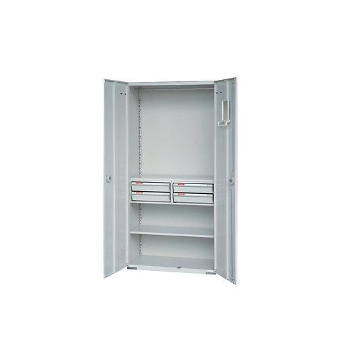 大公文櫃附4抽屜1層板w90d45h180cm