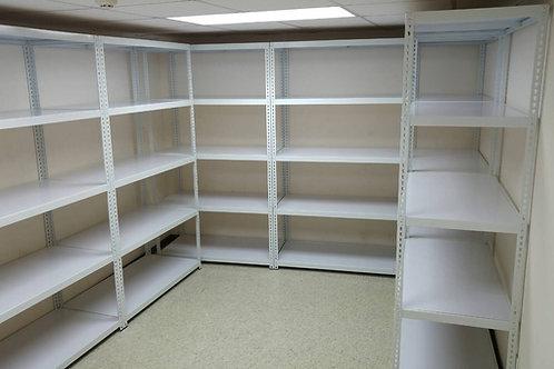 DIY儲藏室倉儲角鋼架置物架收納架-W120xD45xH180五層四格