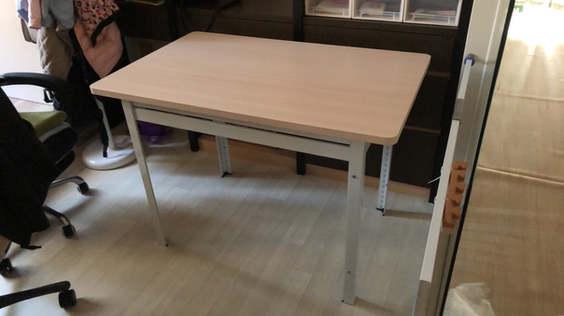 桌板外蓋式-北歐白橡木