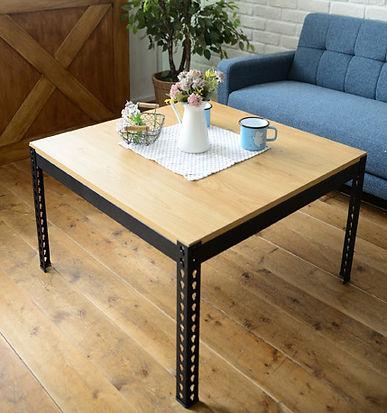 角鋼茶几,工業風茶几,黑砂紋角鋼桌,茶几訂做,茶几訂製
