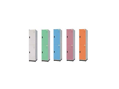 全鋼門片-雙格鑰匙置物櫃(高)W39.3D35H185.2cm