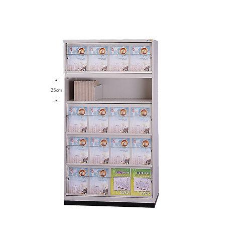 書報櫃-拉板x5