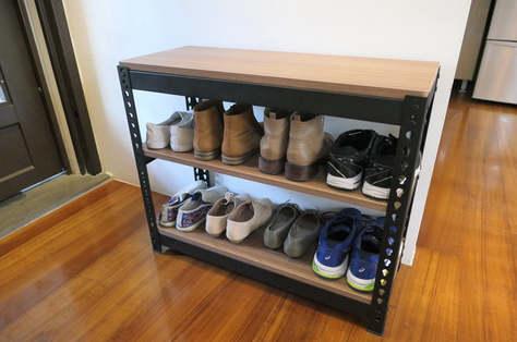 安寶角鋼鞋櫃訂做