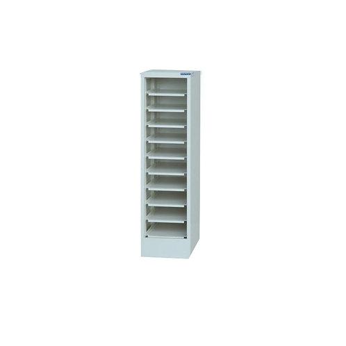 10格筆電櫃-開放式(可加裝鐵門)