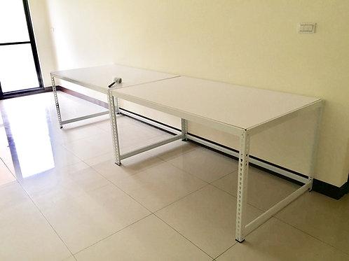 白色角鋼桌訂製