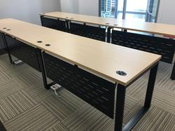 安寶工業風方管桌 可加購桌下擋板