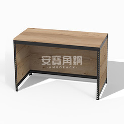 桌+下ㄇ+三面封板