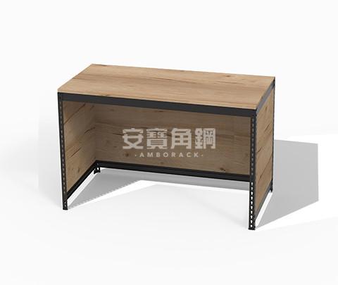 一板桌+下ㄇ+三面封