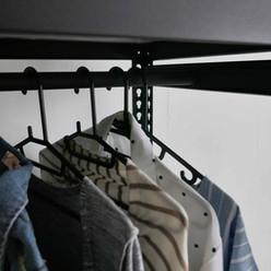 吊衣桿 材質與角鋼同