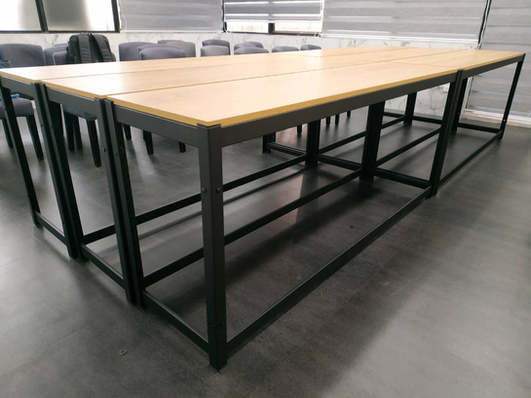 里斯本橡木-桌板跨放式18mm