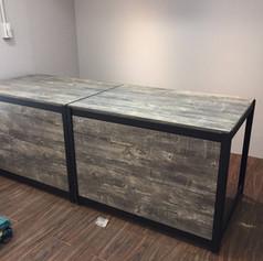 角鋼桌背封板