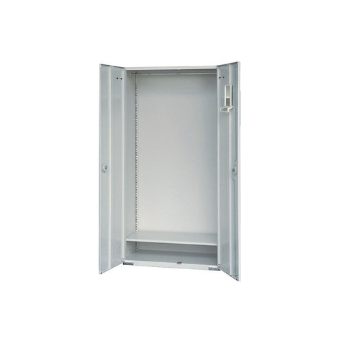 大公文櫃附單層板、吊衣桿w90d45h180cm