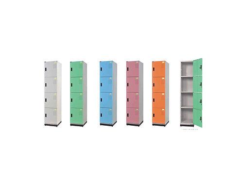 全鋼門片-四格鑰匙置物櫃(高)W39.3D35H185.2cm