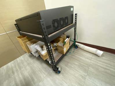 置物架兩層板 配件:輪組
