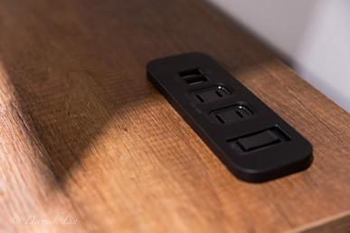 嵌入式插座,2孔+2usb+防過載