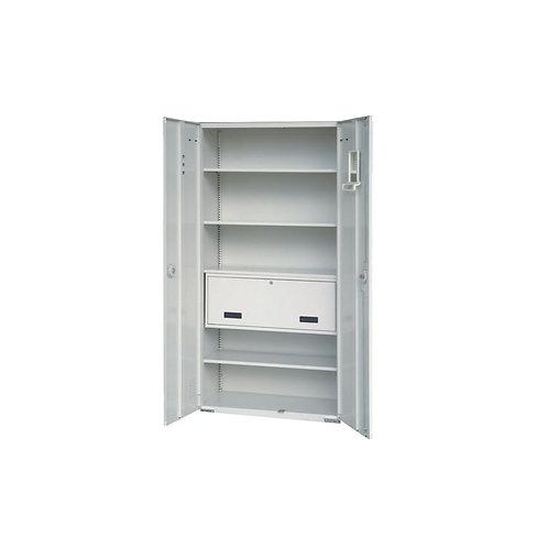 大公文櫃附卷宗櫃、3層板w90d45h180cm