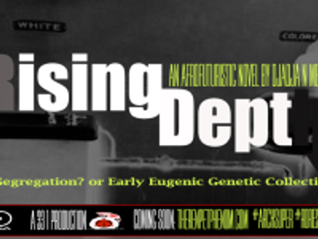Afro-Futuristic Vision #35 – Rising Depth Fundraiser – My Next Literary Work