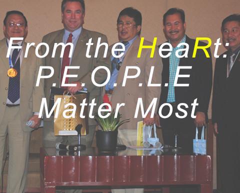 From the HeaRt: P.E.O.P.L.E. Matter Most