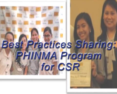 Best Practice Sharing : PHINMA's Mentoring Program for CSR
