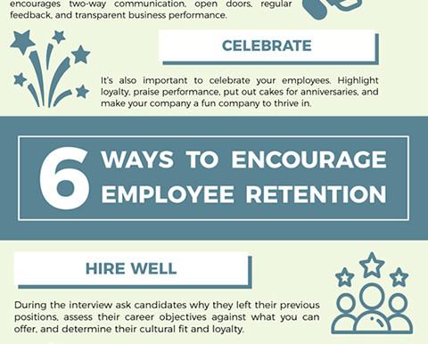 Six Ways to Encourage Employee Retention