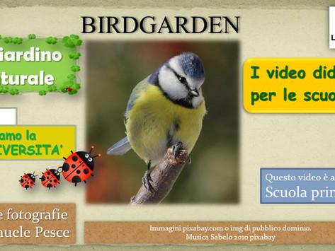 """1°puntata dei didattici sul giardino naturale: """"la biodiversità"""""""