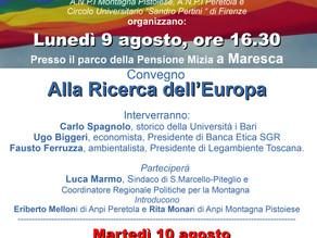 Camminata per la Pace da Monte Sole a Sant'Anna di Stazzema 6-12 Agosto 2021