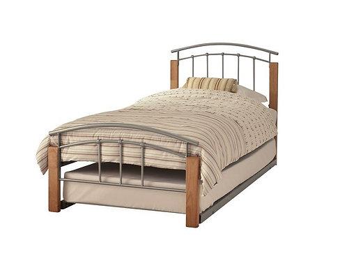 Serene Tetras Guest Bed - Beech/Silver