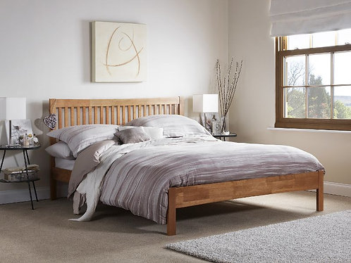 Serene Mya Bed Frame - Honey Oak