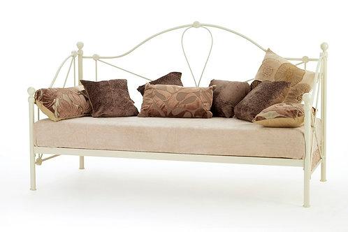 Serene Lyon Day Bed - Ivory Finish