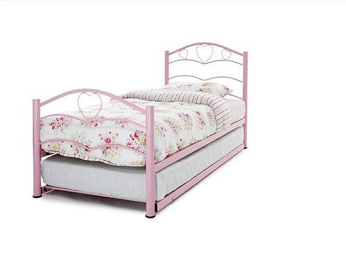 Serene Yasmin Guest Bed - Pink Gloss