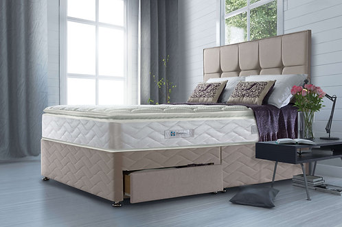 Sealy Nostromo 1400 Pocket Divan Set