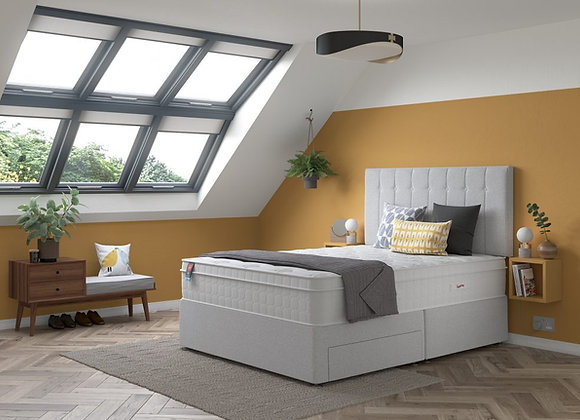 Relyon Revive Gel Fusion 2400 Divan Bed