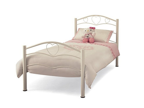 Serene Yasmin Bed Frame - White
