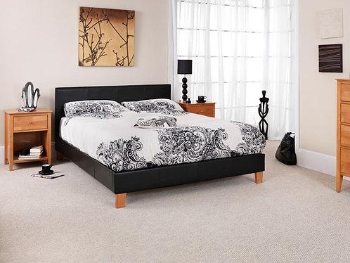 Serene Tivoli Bed Frame - Black