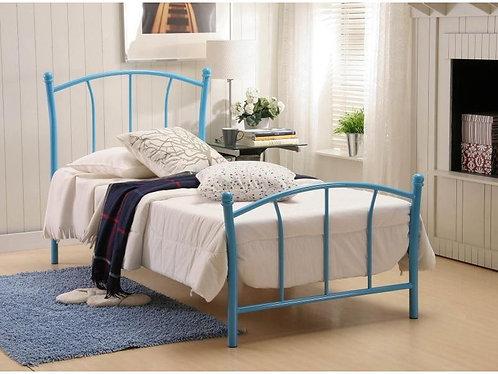 Serene Penny Bed Frame - Blue