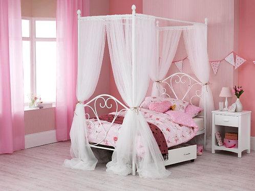 Serene Isabelle 4 Poster Bed Frame