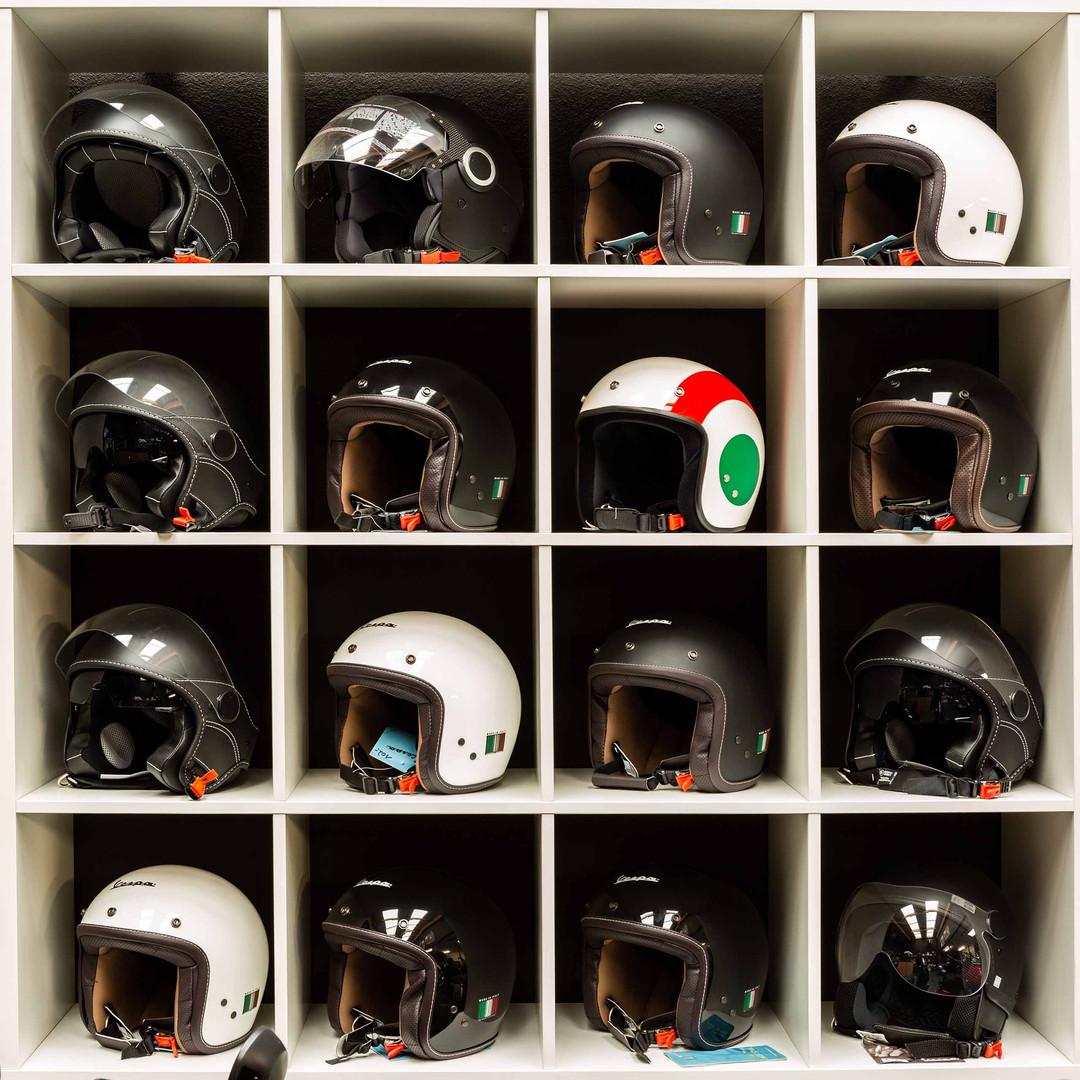 scooter en motor helmen