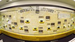 OLYMPUS History Wall