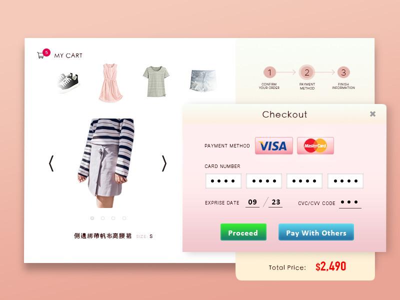 Checkout Web Design