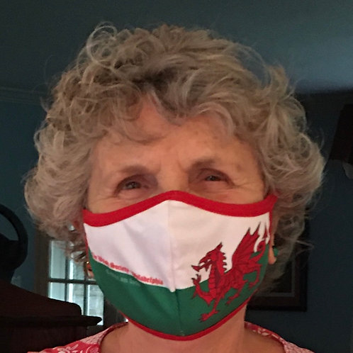 Welsh Flag Mask