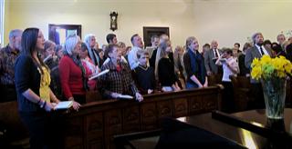 WSP 284th Divine Service for Saint David