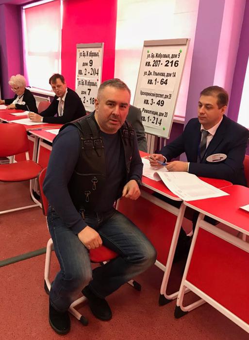НочныеВолкиТула. Выборы президента России 2018_2