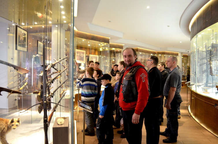 Ночные Волки Тула. Русские Мотоциклисты Домодедово,экскурсия в Музее Оружия.