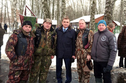 Ночные Волки Тула с губернатором Тульской области Дюминым А.Г.