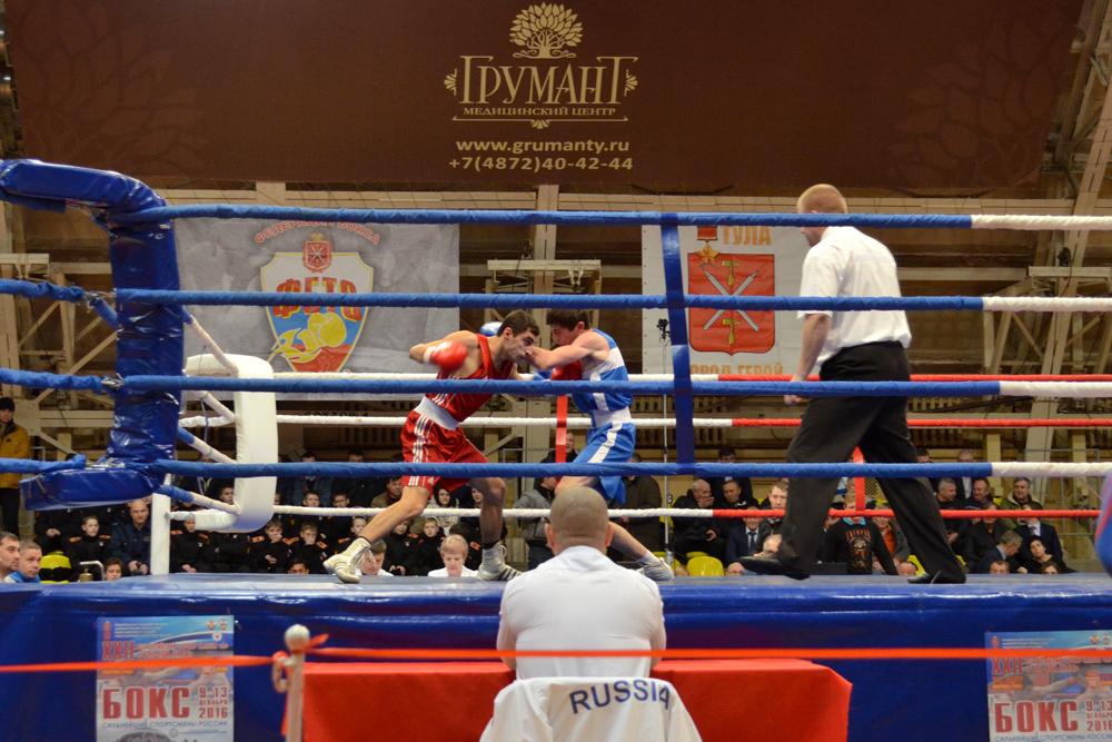 Ночные Волки Тула. Всероссийский турнир по боксу. Первый бой