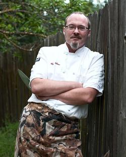 Cookbook author, Hank Shaw, in OKC