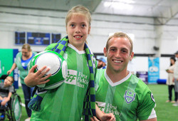 Energy FC mentor Special Olympics
