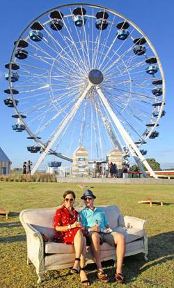 Ludivine: Dinner on the Ferris Wheel