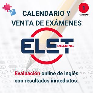 examen elet uks reading