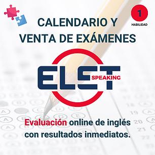 examen elet uks speaking